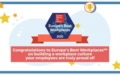 Best Workplaces Europe 2020
